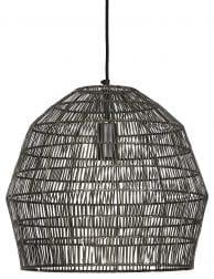 Donker grijze hanglamp