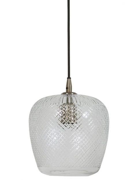 Doorzichtige hanglamp glas