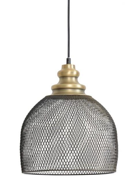 Gaaslamp zwart met goud
