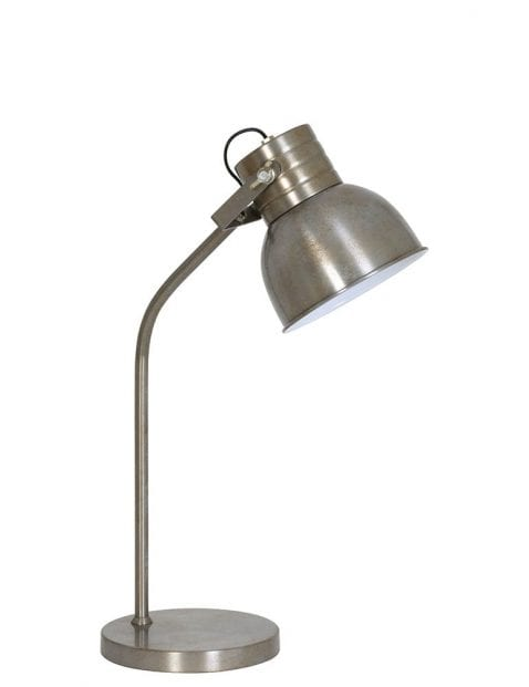 Geborsteld-stalen-tafellampje-1