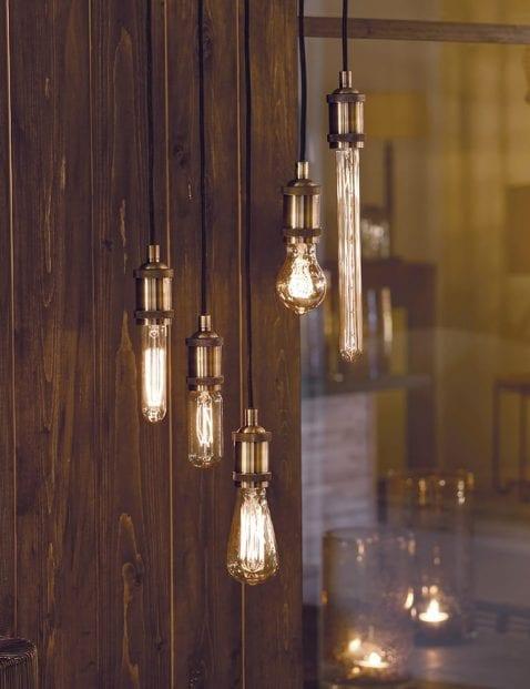 Gezellige-5-lichts-hanglamp-zwart-met-staal-1