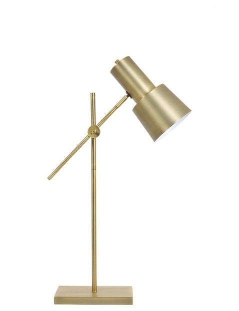 Goudkleurig tafellampje verstelbaar
