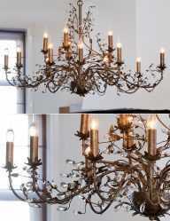 Grote-chique-bronzen-hanglamp-1