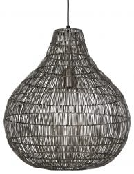 Grote grijze draadlamp