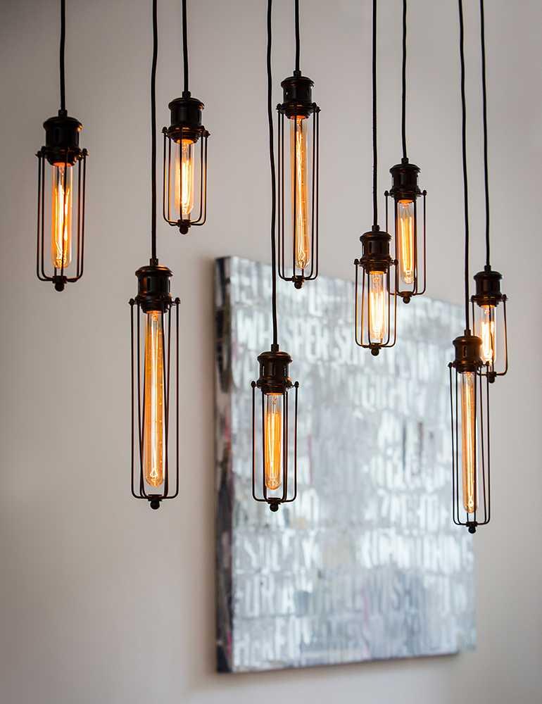 Super Grote hanglamp met 9 lichtjes Light&Living Dagmar - Directlampen.nl UM-78