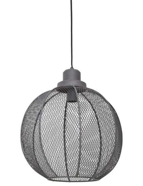 Hippe cement grijze gaaslamp
