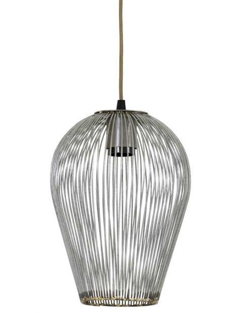 Industriële draadlamp staal