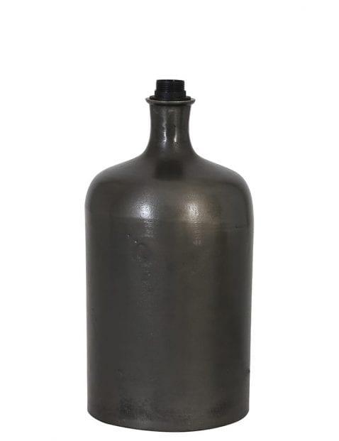 Industriële vaas lampenvoet zwart
