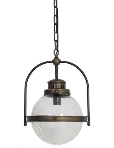 Industrieel hanglampje tin