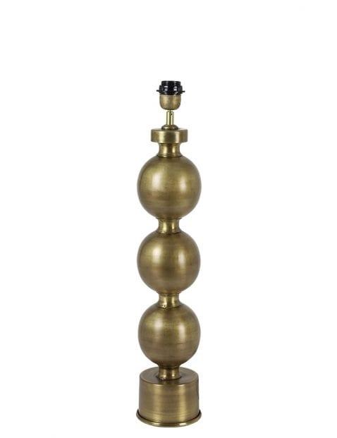 Kandelaar tafellamp goud
