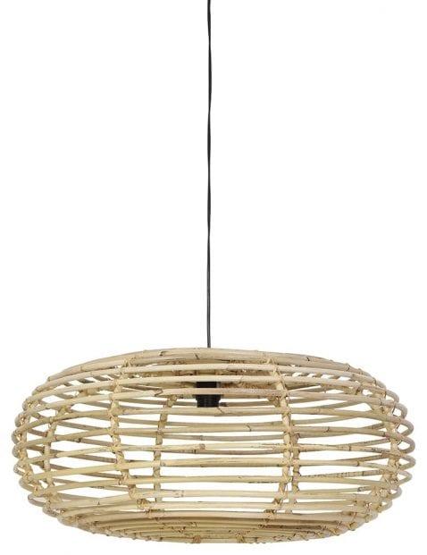Landelijke bamboe lamp