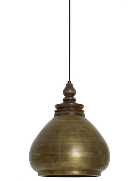 Oosterse lamp brons