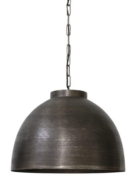 Robuuste zwarte hanglamp