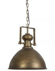 Rustieke bronzen lamp