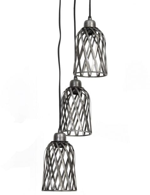 Sfeervolle 3-lichts lamp