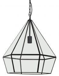 Sfeervolle hanglamp zwart
