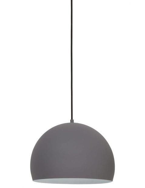 Simplistische grijze hanglamp