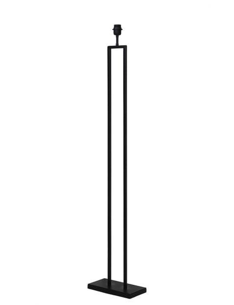 Simplistische lange lampenvoet zwart