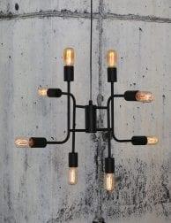 Speelse-meerlichts-hanglamp-zwart-1