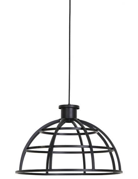 Stoer zwart hanglampje