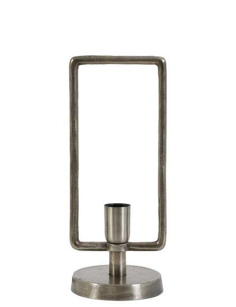 Tafellamp antiek tin