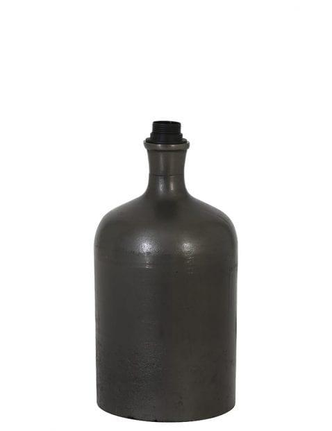 Vaasvormige lampenvoet zwart