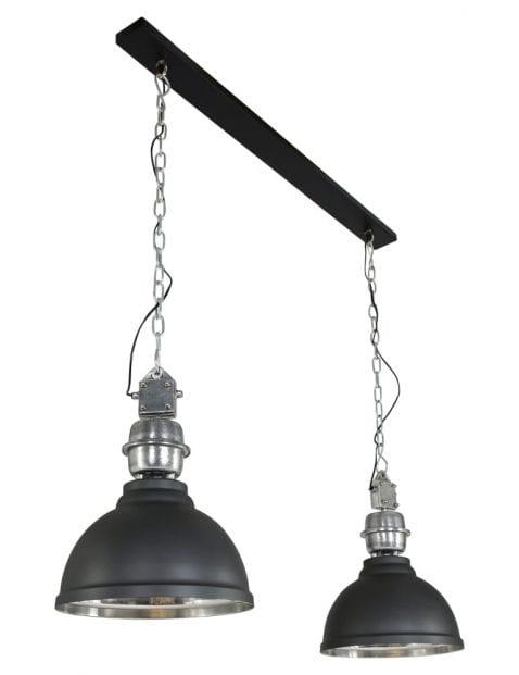 2 lichts industriele hanglamp-7981ZW
