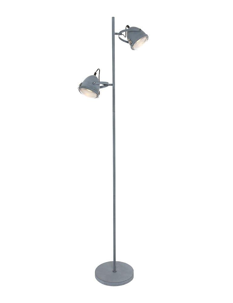 Afbeelding van 2lichts vloerlamp Lumidem Paco
