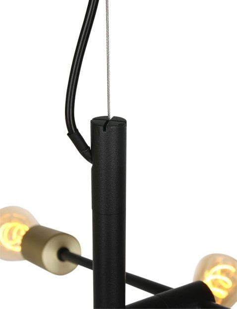 4-lichts-industriele-plafondlamp-1637ZW-1