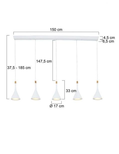 5-lichts-witte-hanglamp-7808W-4