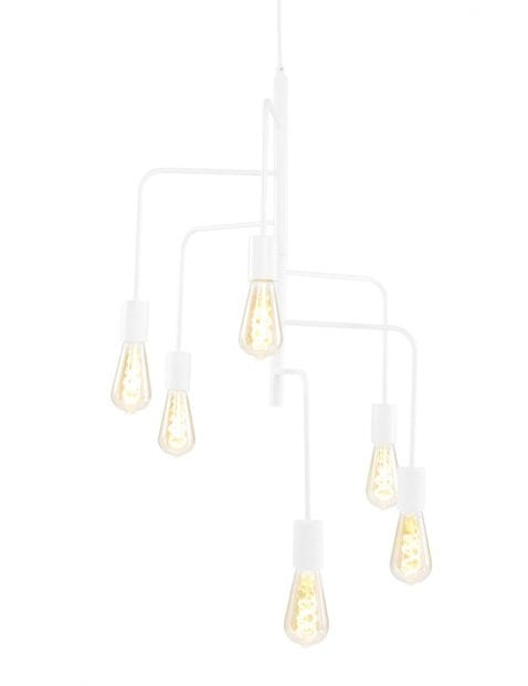 6 lichts hanglamp-1681W