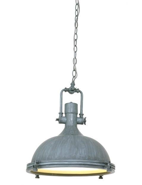 Grijze landelijke hanglamp Mexlite Eliga