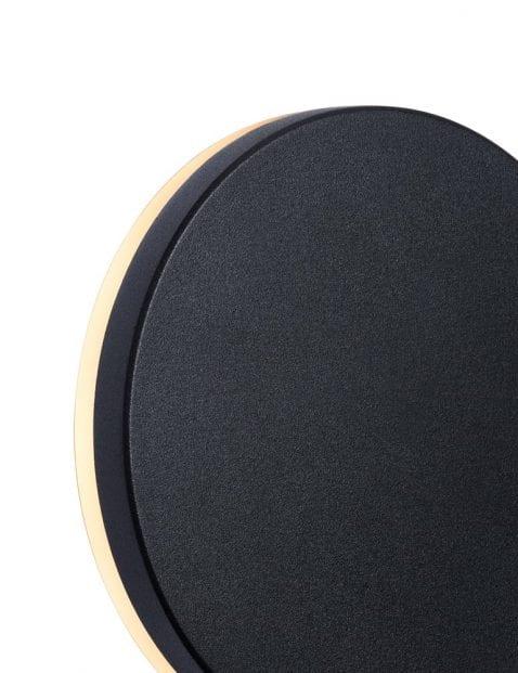 Buitenlamp-ronde-cirkel-zwart-2302ZW-2