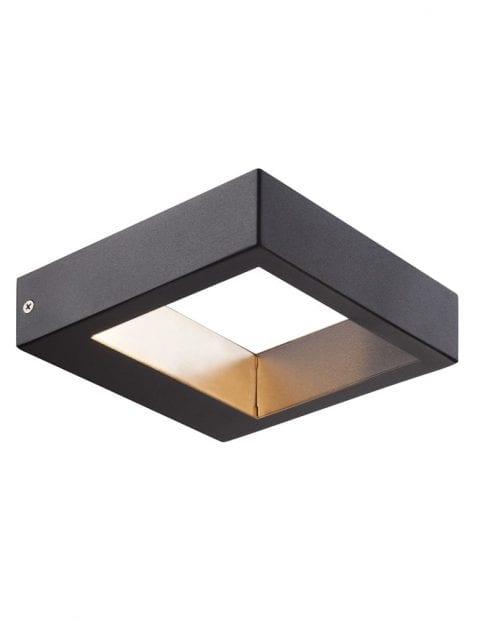 Buitenlamp vierkant zwart-2142ZW