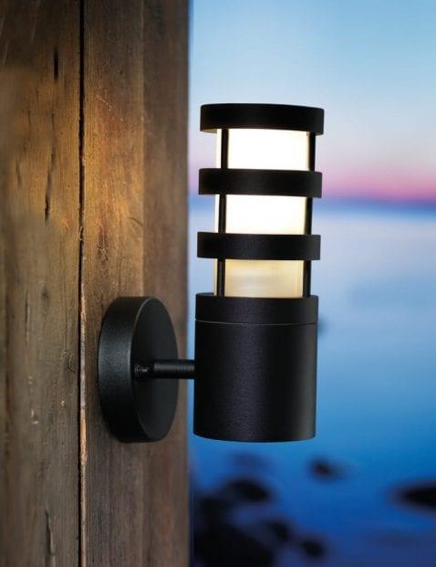 Buitenlamp-wand-zwart-2172ZW-1