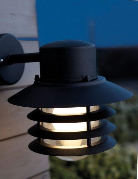 Buitenwandlamp-retro-zwart-2399ZW-1