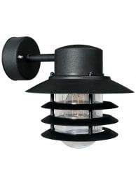 Buitenwandlamp retro zwart-2399ZW