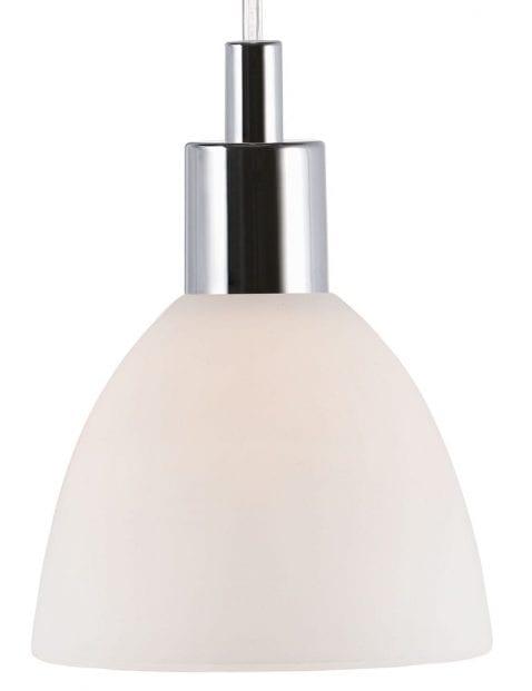 Chromen-hanglamp-met-witte-kap-2360CH-2