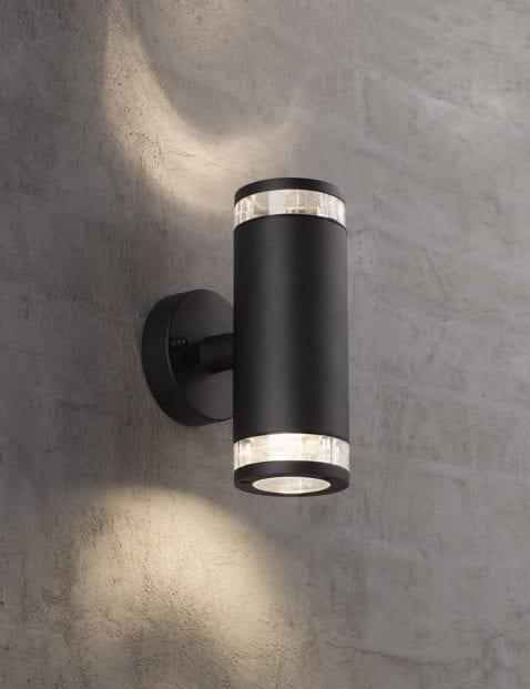 Cilinder-buitenlamp-zwart-2149ZW-1