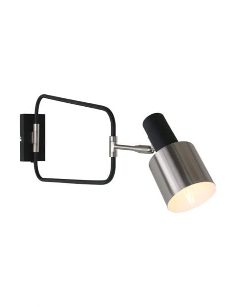 Design wandlamp staal-1699ZW