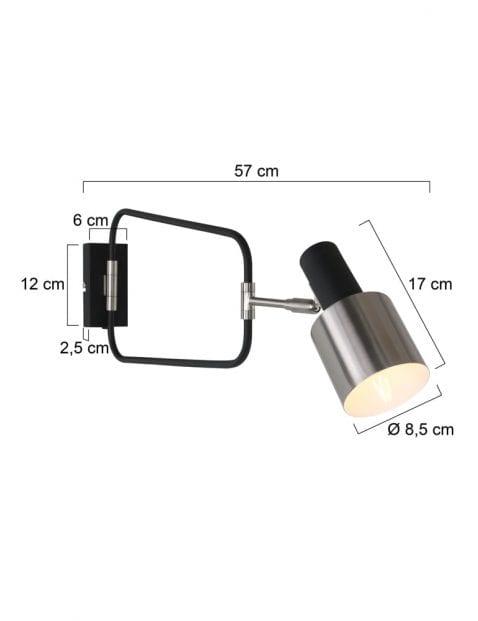 Design-wandlamp-staal-1699ZW-6