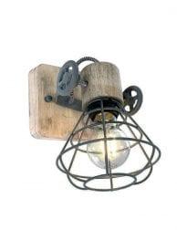 Draad wandlamp-1578GR