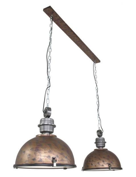 Dubbele industriele hanglamp-7979B