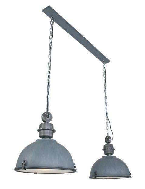Dubbele industriele hanglamp-7979GR