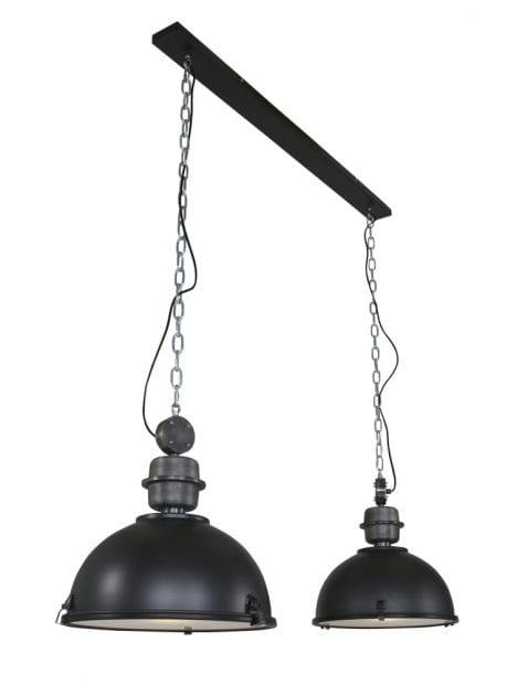 Dubbele industriele hanglamp-7979ZW