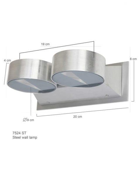 Dubbele-wandlamp-7524ST-1