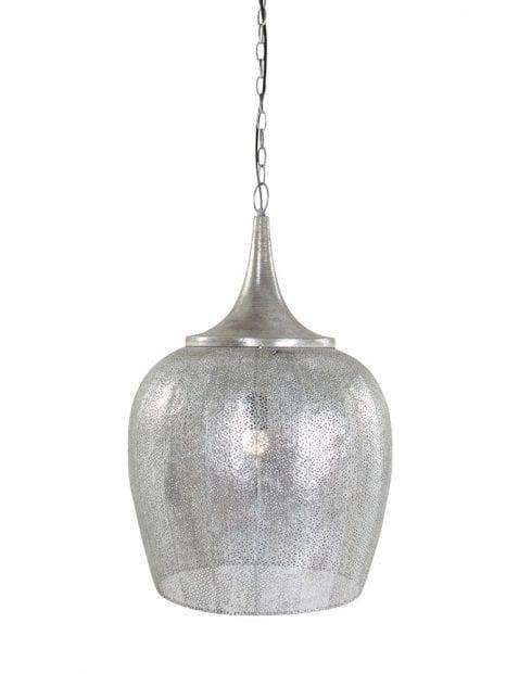 Egyptische hanglamp zilver-1692ZI