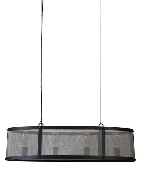 Gaas hanglamp zwart-1998ZW