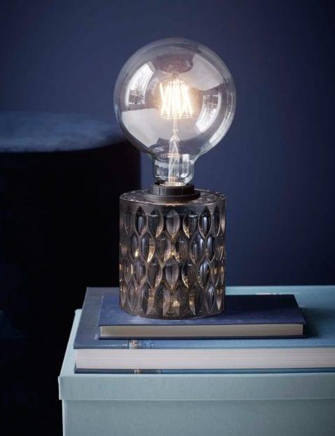 Glazen-donkere-tafellamp-2310GR-1
