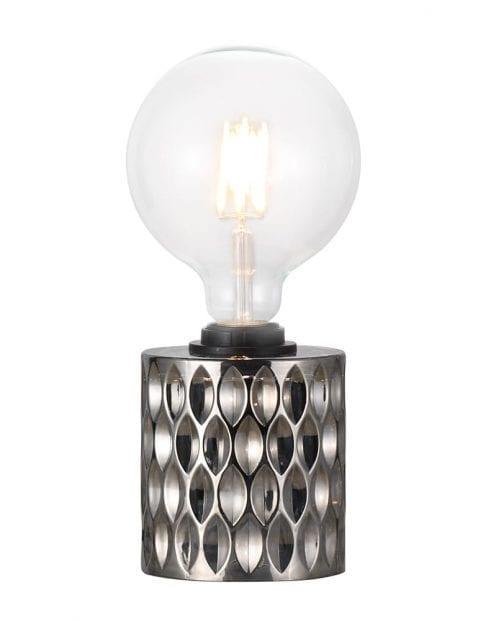 Glazen donkere tafellamp-2310GR